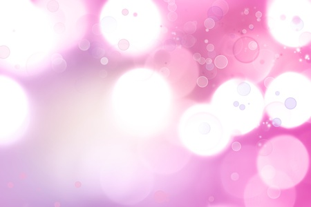 Abstract pink tone lights background Stock Photo - 17680439