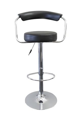 barstool: Single stool isolated on plain background Stock Photo