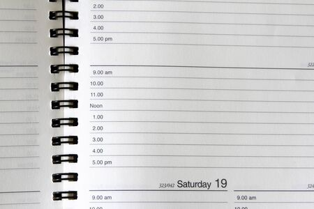 Closeup Of Lined Diary Page Stock Photo, Picture And Royalty Free ...