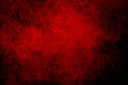 red abstract backgrounds: Red grunge textured wall. Copy space Stock Photo