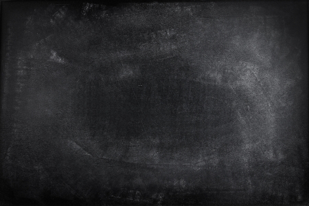 Chalk rubbed out on blackboard Stock Photo - 18093269