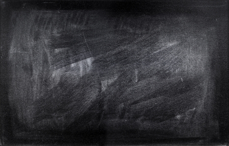 Chalk rubbed out on blackboard Stock Photo - 18093266