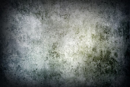 Green tone grunge textured wall  Stock Photo - 18252191