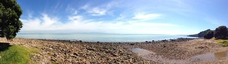 new zealand beach: Coastline, North Island, New Zealand