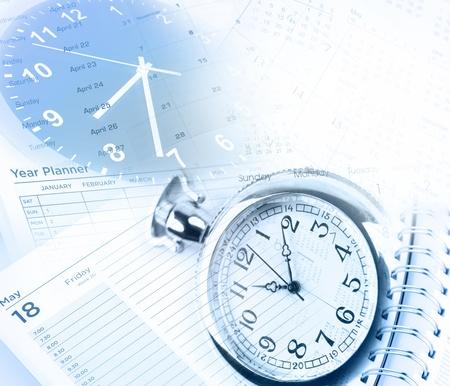 Cadrans d'horloge, les dates de calendrier et agenda