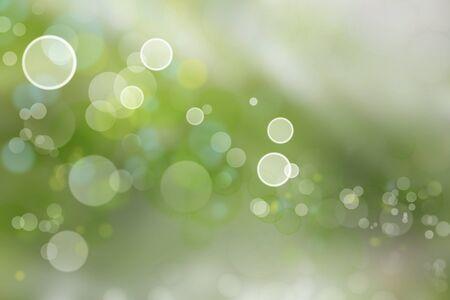 green tone: Circles on green tone background
