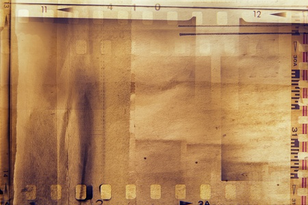 negatives: Film strips and grunge paper  Stock Photo