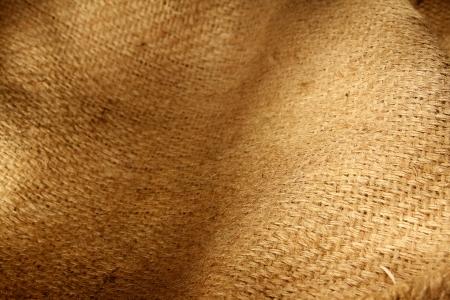 sackcloth: Closeup of natural burlap hessian sacking