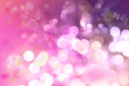 pink bubbles: Abstract pink tone lights background