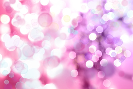 Abstract pink tone lights background photo
