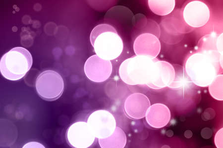 Abstract pink tone lights background Stock Photo - 19914667