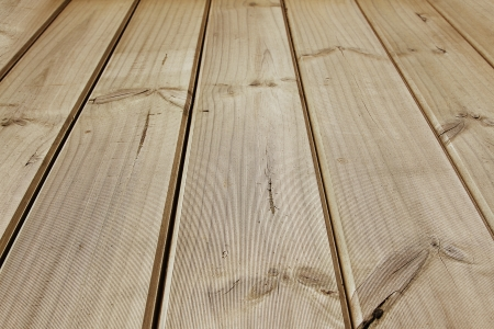 floorboards: Closeup of wooden floor boards