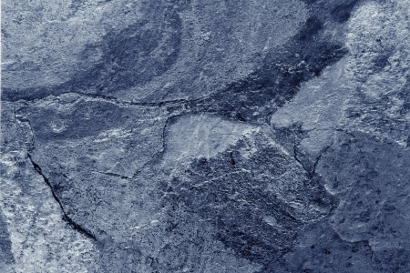 grunge textures: Closeup of blue tone slate floor