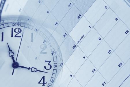 gestion del tiempo: Gesti?el tiempo Foto de archivo