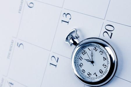 gestion del tiempo: Gesti?n del tiempo Foto de archivo
