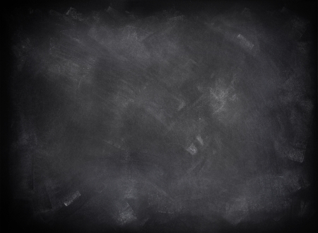 distressed: Chalk rubbed out on blackboard