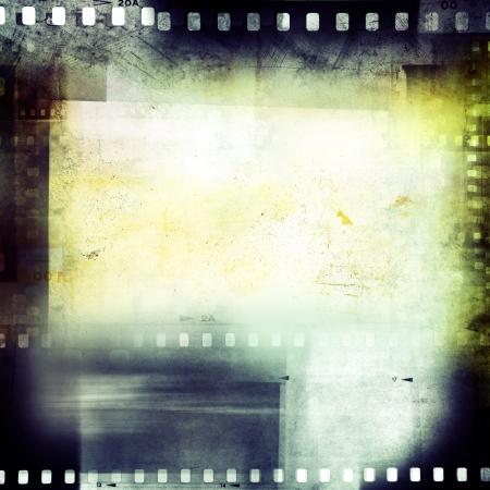 negatives: Film negatives frame, copy space Stock Photo