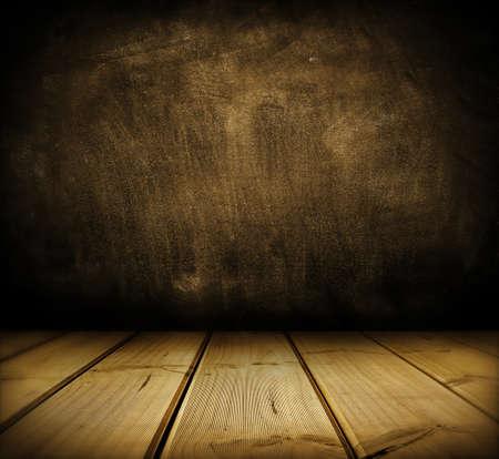 floorboards: Suelos de madera y el espacio Copia pared