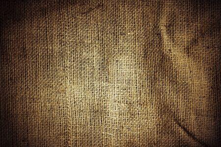 sackcloth: Closeup of burlap hessian sacking