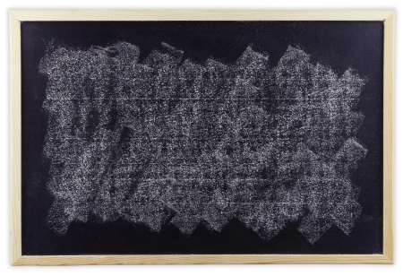 White chalk smudged on blackboard  Stock Photo - 21787006