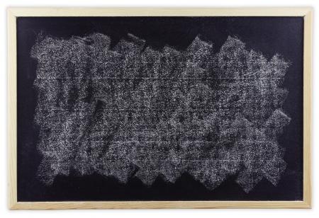 White chalk smudged on blackboard Stock Photo - 21787006