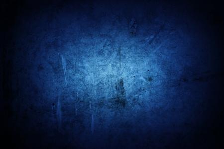 青いグランジ テクスチャ壁クローズ アップ