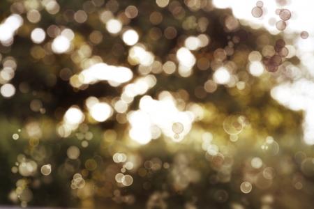 efectos especiales: Bright círculos fondo borroso tono marrón Foto de archivo