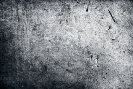neglected: Grey grunge textured wall. Copy space