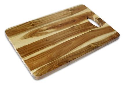 まな板: New chopping board isolated