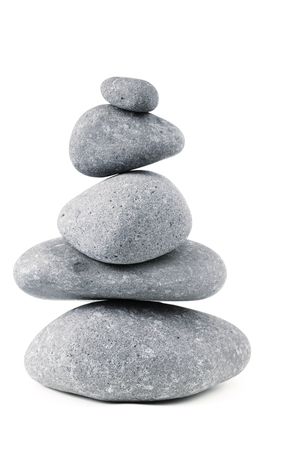 steadiness: Stones stacked on top of each other