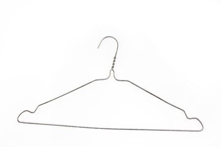 Coat hanger isolated on plain background Stock Photo - 23108764