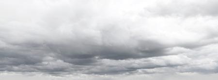 Grey overcast storm clouds sky photo