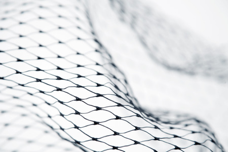fishnet: Closeup of abstract fishnet texture Stock Photo