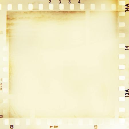 negatives: Film negatives frame, copy space