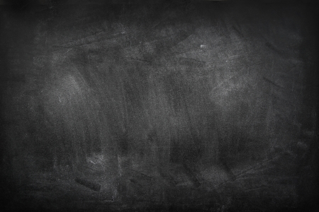 empty surface: Chalk rubbed out on blackboard