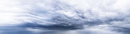 Dark storm clouds sky photo