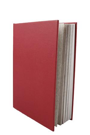 Een boek geïsoleerd over wit