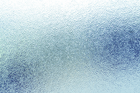 Gros plan de la texture de verre dépoli