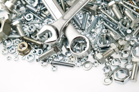 spanners: Spanners on nuts and bolts