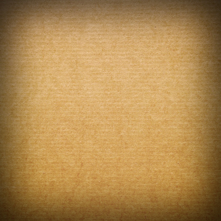 Closeup of brown cardboard texture photo