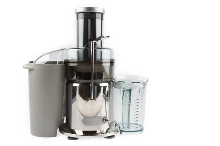 Juicer machine isolated on plain background photo