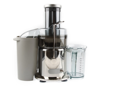 food processor: Juicer machine isolated on plain background