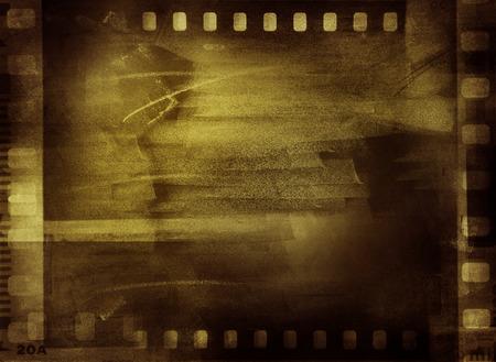 negative space: Film negative frames, copy space