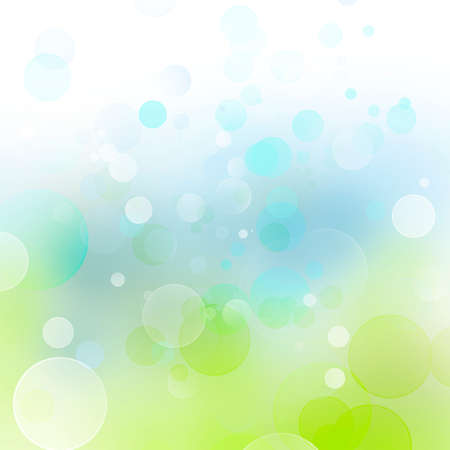 Abstract blue and green tone background photo
