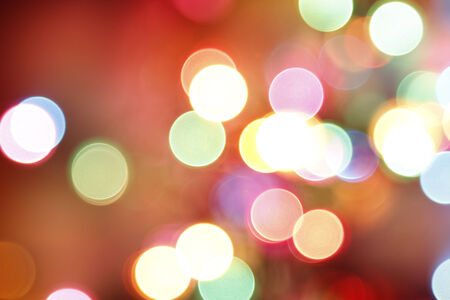 Colorful circles of light abstract background photo