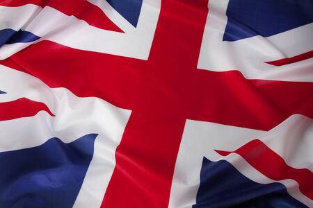 union flag: Closeup of Union Jack flag