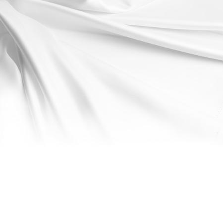 Closeup of rippled silk fabric