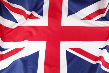 union jack: Closeup of Union Jack flag