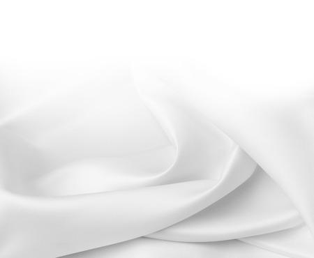 Primo piano di tessuto di seta increspata Archivio Fotografico - 34425451