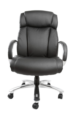 Business chair isolated on plain background photo
